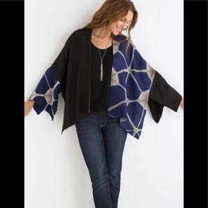 Laura Hunter Shibori Kimono. Fits up to Sz. 20